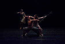 Contempodanza presenta Mutare, obra de Cecilia Lugo, en Un Teatro, enero 2020. Foto Manuel Villalobos.