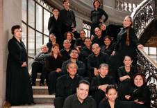 Coro de Madrigalistas de Bellas Artes, se presenta con la Orquesta Filarmonica de la UNAM. Sala Nezahualcoyotl, febrero 2020