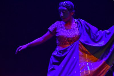 El Pescador y la petenera, obra de Teatro de Quimeras, se presenta en la Sala Villaurrutia del Centro Cultural del Bosque, febrero 2020. Foto Marco Lara.