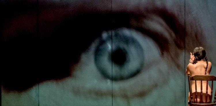 Los Tristes Tigres presenta El Ventrilocuo, un texto de Larry Tremblay con direccion escenica de Adrian Vazquez. Foto Enrique Gorostieta.