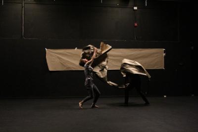Galia Eibenschutz e Ivan Sanchez presentan Extimidades en Soliloquios 2020 Centro Cultural Los Talleres. Foto Juan Valdes